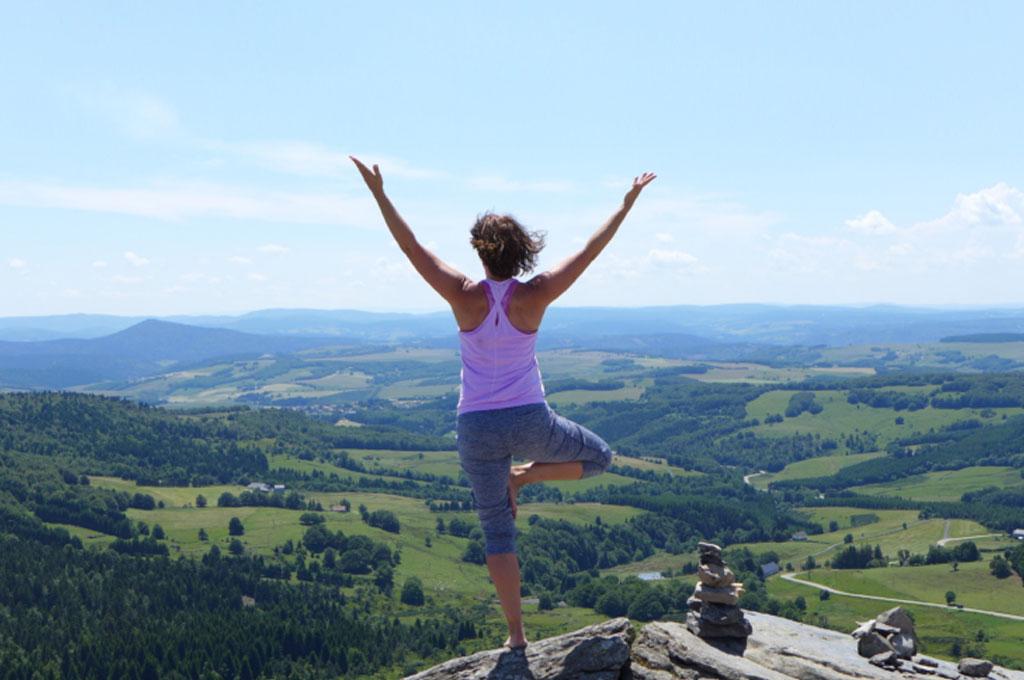 Yoga an der Saarschleifenlodge
